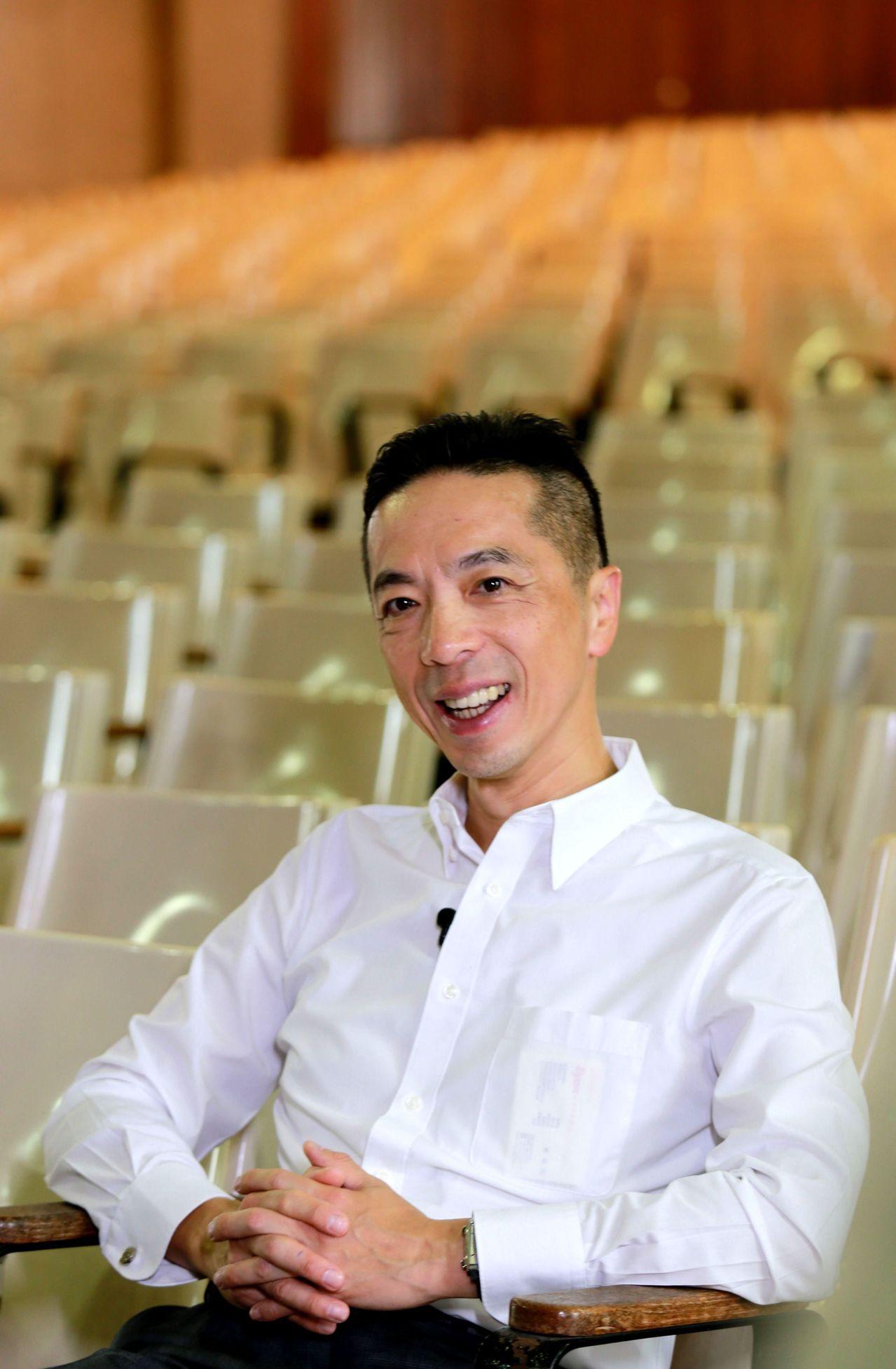 勇源教育發展基金會執行長陳致遠表示,教育最重要的精神就是「愛與陪伴」。記者 洪英...