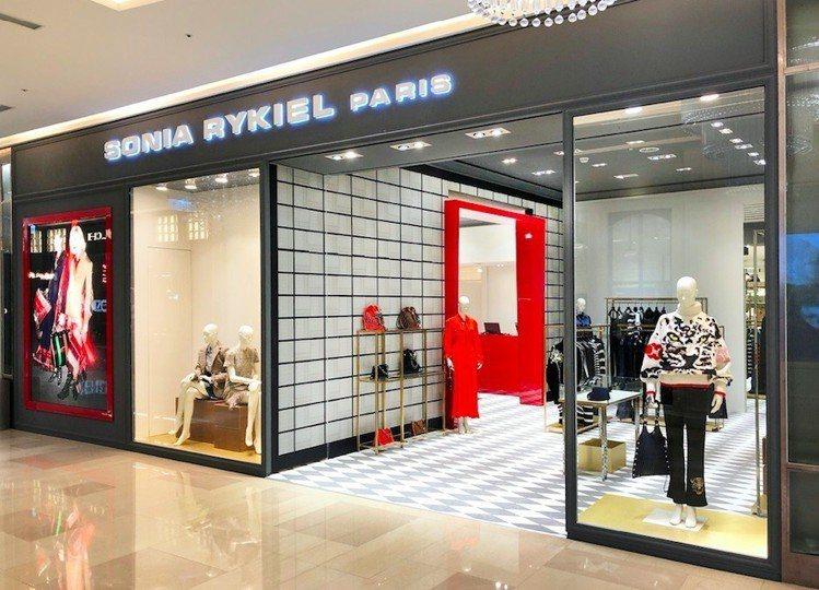 SONIA RYKIEL在台中大遠百成立全台首家專門店。圖/SONIA RYKI...
