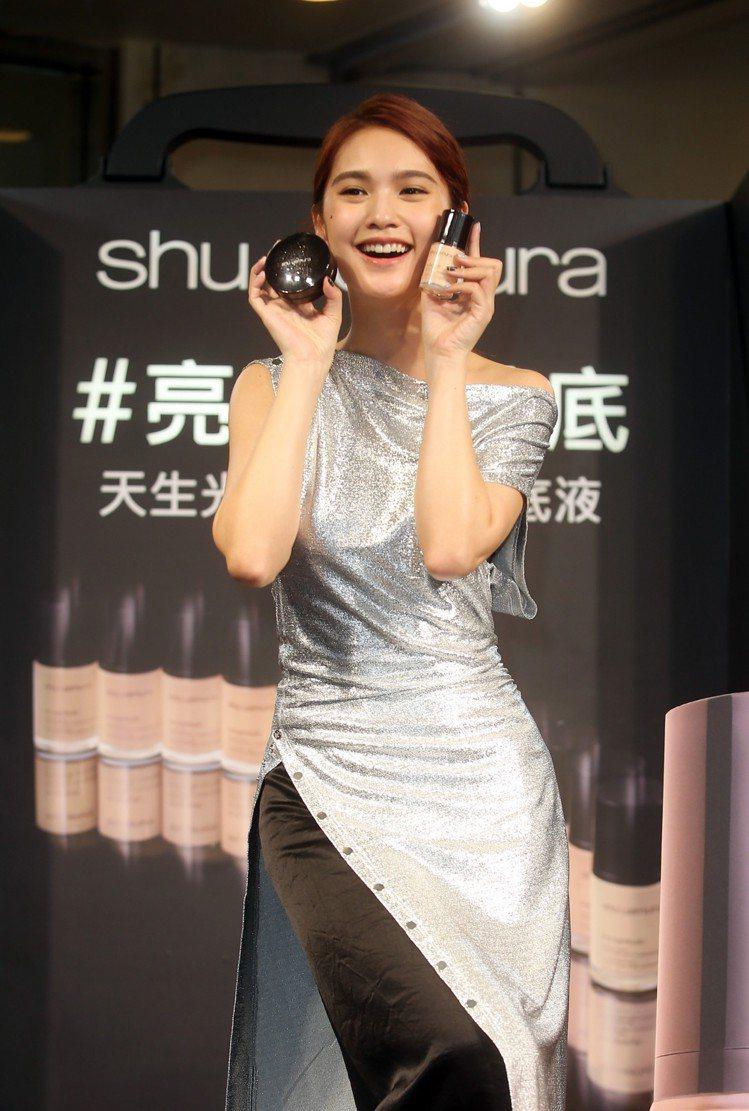 楊丞琳認為化妝是一種禮貌。圖/記者曾吉松攝影