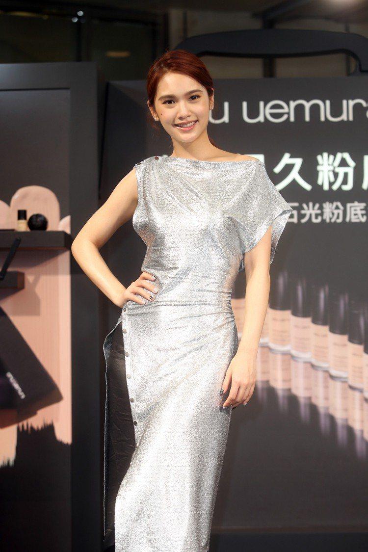 楊丞琳最重視底妝與卸妝。圖/記者曾吉松攝影