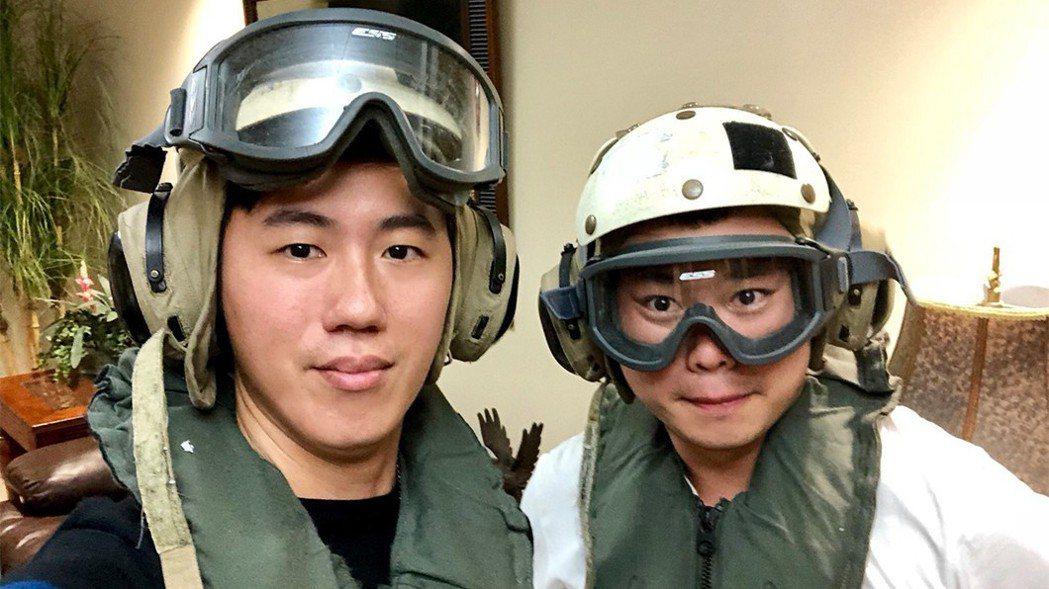 TVBS成功採訪美國軍演。圖/TVBS提供