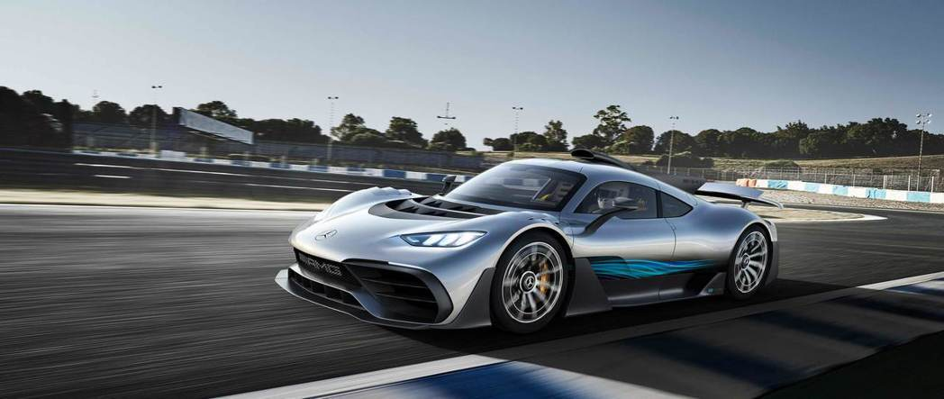 Mercedes-AMG Project One概念車。 Mercedes-AM...