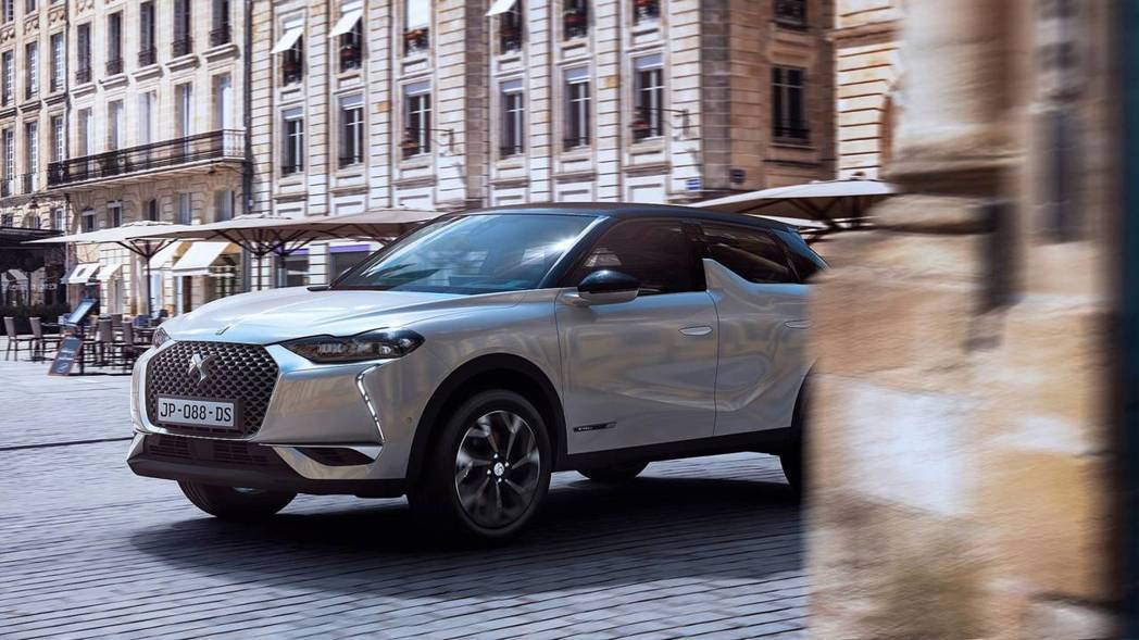 DS 3 Crossback E-Tense純電車型。 摘自DS Automob...