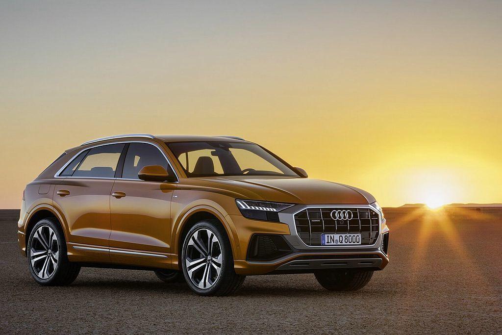 身為品牌旗艦的Audi Q8或許非新世代BMW X5、賓士GLE最直接的競爭對手...