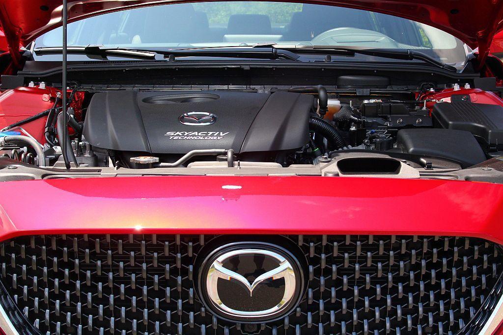 小改款Mazda6目前在台灣市場,仍只先提供2.0L SkyActiv-G自然進...
