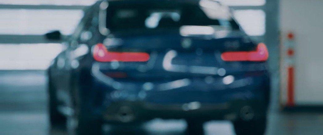 新世代BMW 3-Series若隱若現。 截自BMW影片
