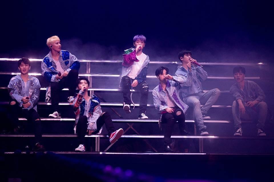 iKON將首爾場演出原汁原味搬來台灣。圖/YG提供