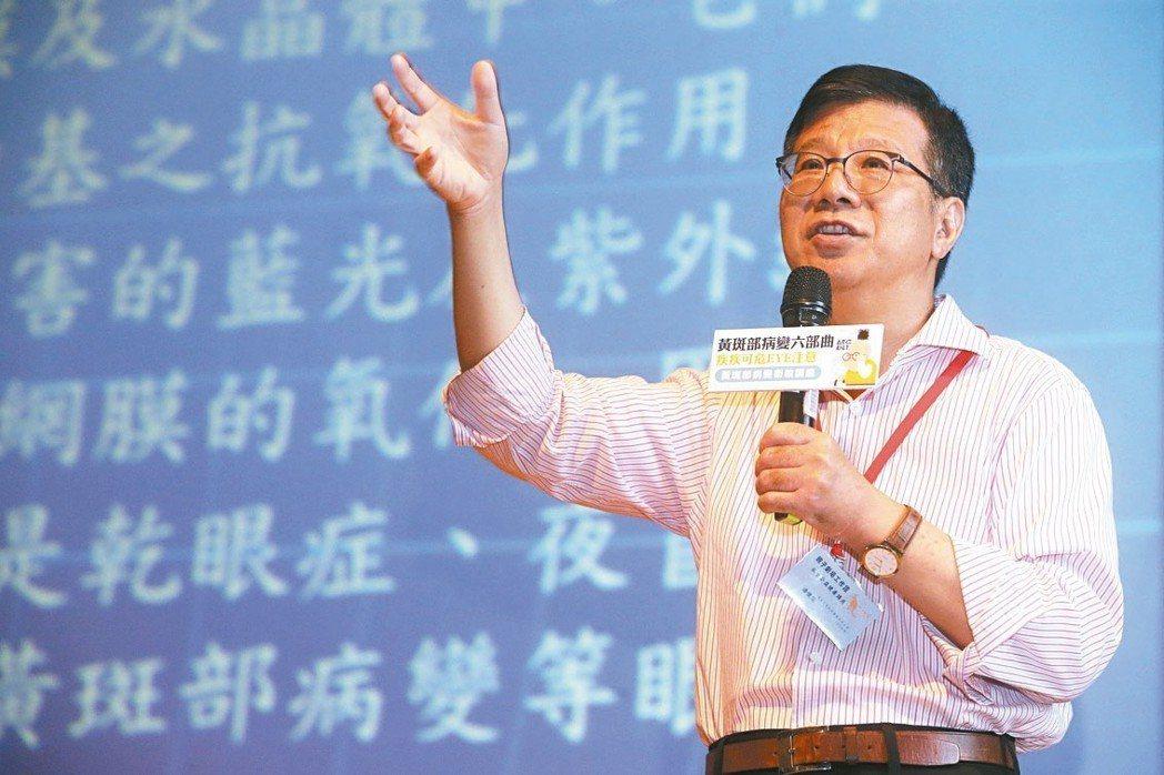 陽明大學醫學院藥理學教授潘懷宗 記者胡經周/攝影