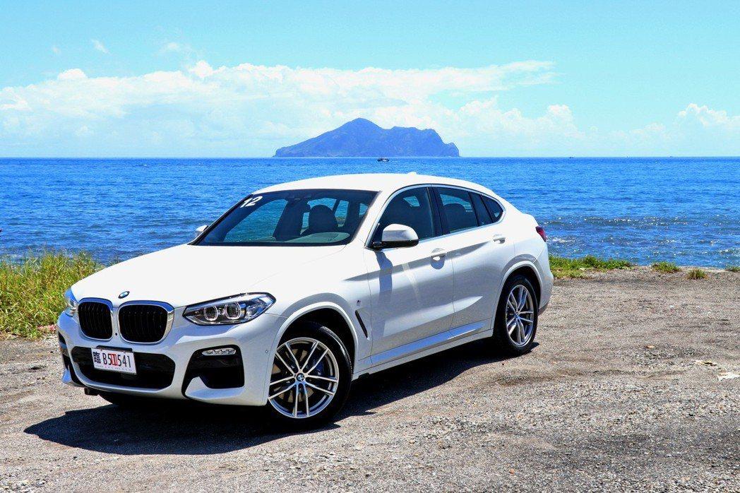 全新BMW X4 xDrive30i M Sport。 記者陳威任/攝影