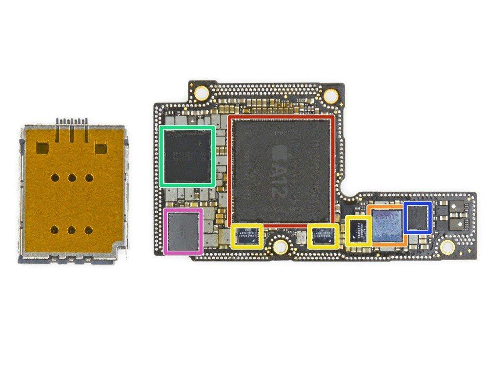 採6核心CPU與4核心GPU設計的A12 Bionic處理器,透過超過69億組電...