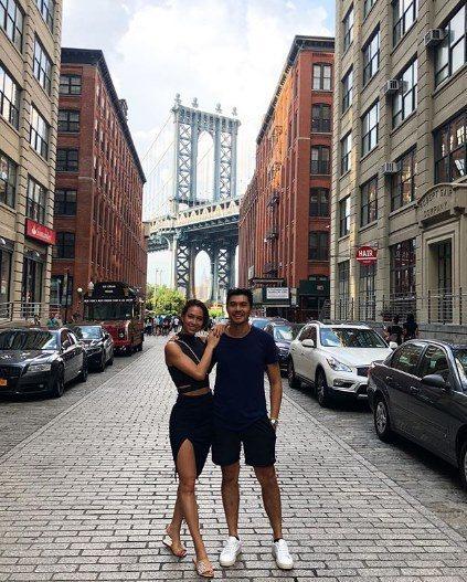 亨利高汀(右)與妻子羅愛英(左)將在台灣過中秋。圖/摘自IG