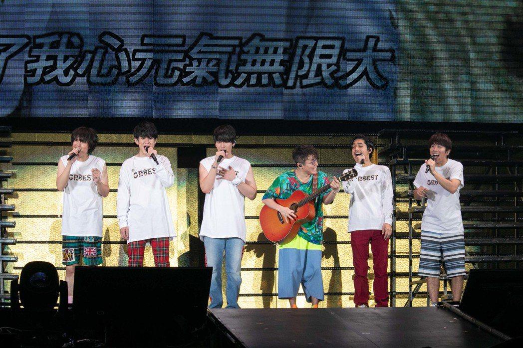 關8在台灣演出完美落幕。圖/東風衛星、大鴻藝術提供