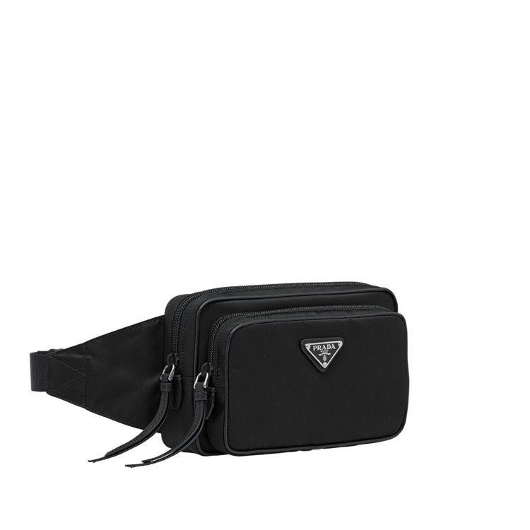 經典尼龍腰包(雙層拉鍊款),20,500元。圖/PRADA提供