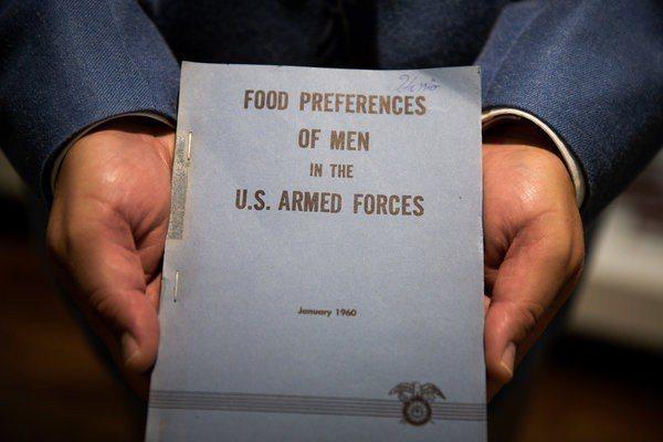 美軍曾仔細研究部隊喜歡吃什麼,這是1960年的書面報告。圖╱取自紐約時報