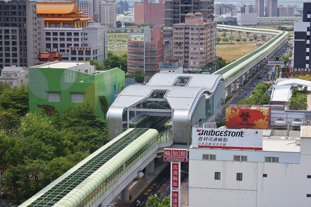 台中捷運綠線年底即將完工試運轉,預計2020年全線通車。圖/台中市新聞局提供