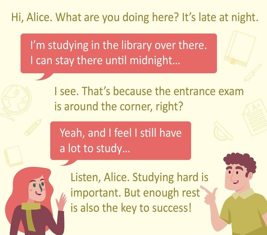 會考生活英語提供