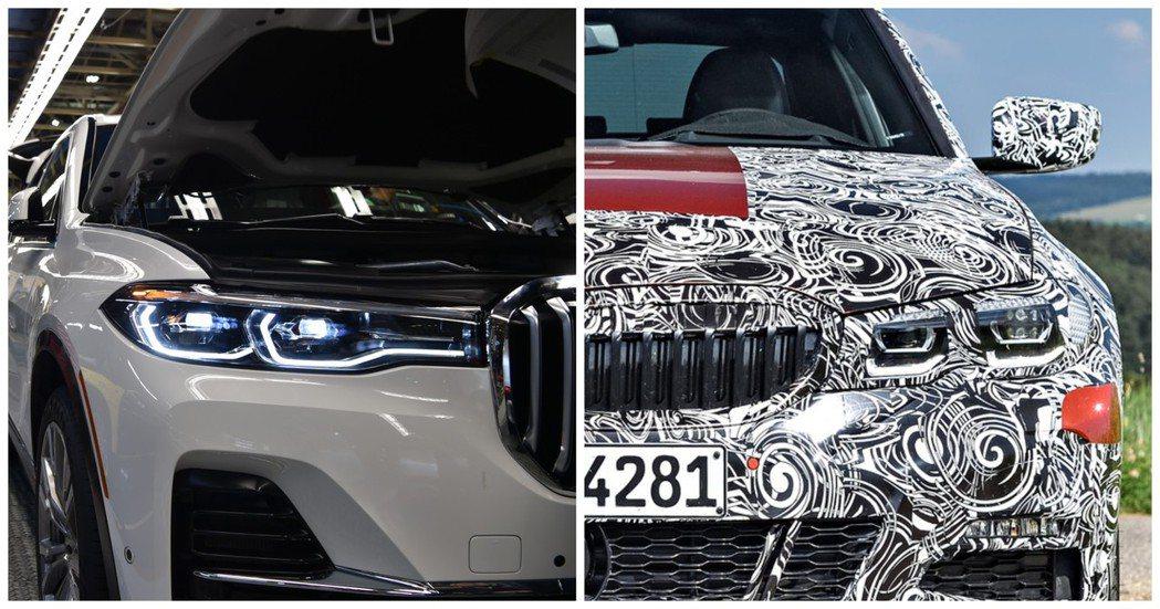 全新BMW X7與新世代3-Series,都將會在今年底之前陸續發表。 摘自BM...