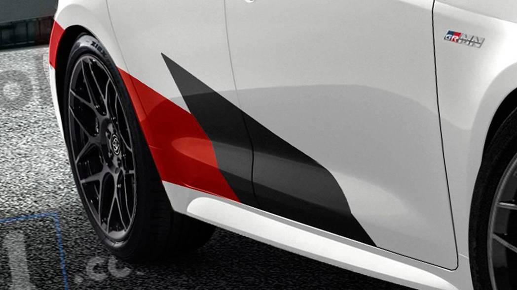 除了換上全新側裙,GR Sports的塗裝也是必要的。 摘自Motor1
