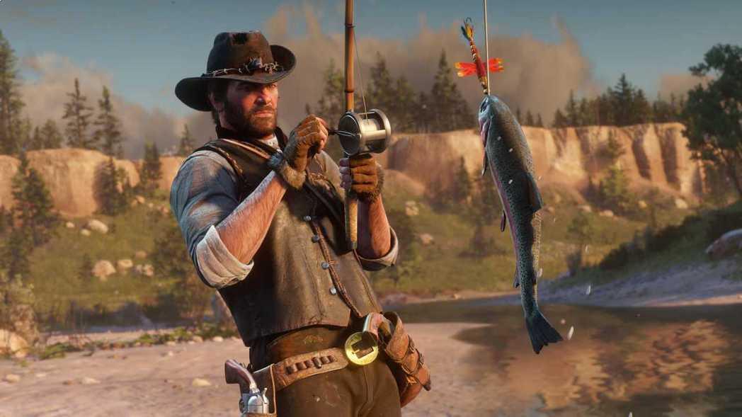 《碧血狂殺2》當然可以釣魚囉。