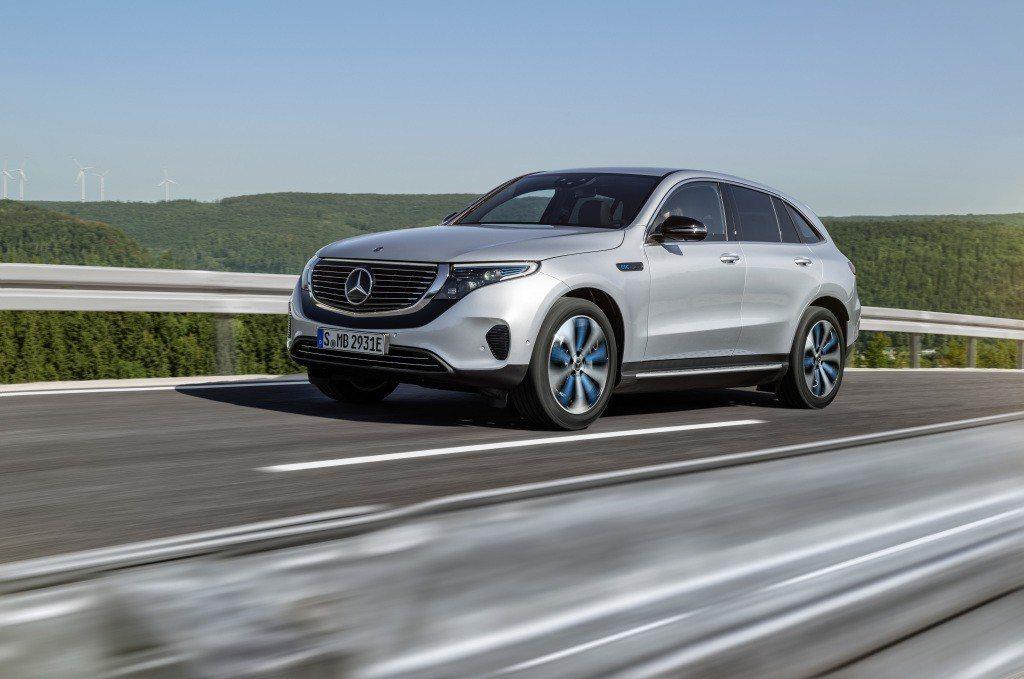 全新Mercedes-Benz電動休旅EQC。 摘自Mercedes-Benz