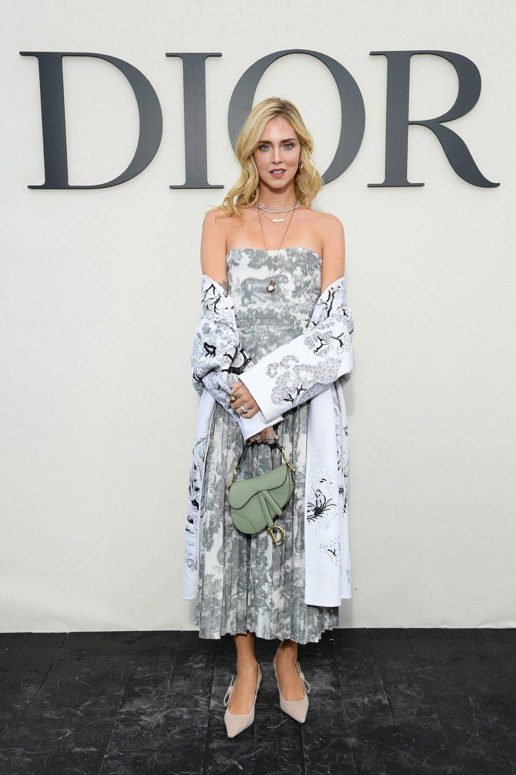 Chiara Ferragni。圖/Dior提供