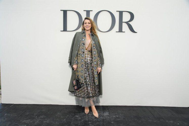 布蕾克萊佛莉。圖/Dior提供