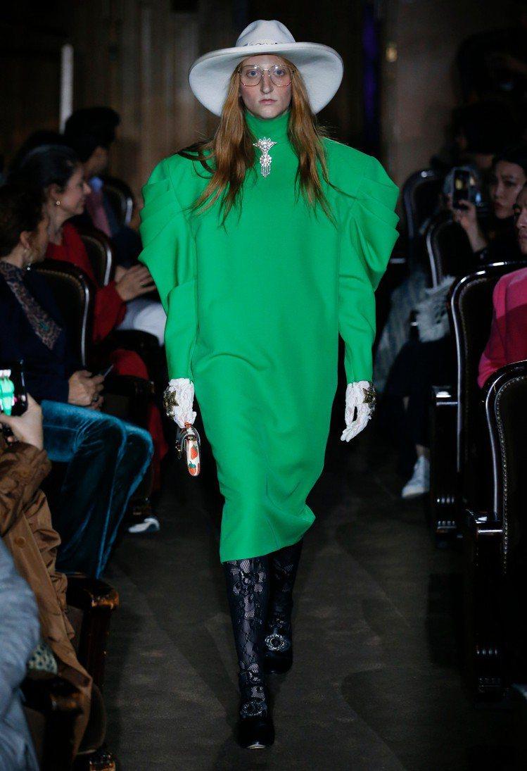 Gucci 2019春夏聚焦在七○年代末、八○年代的夜生活文化。圖/Gucci提...