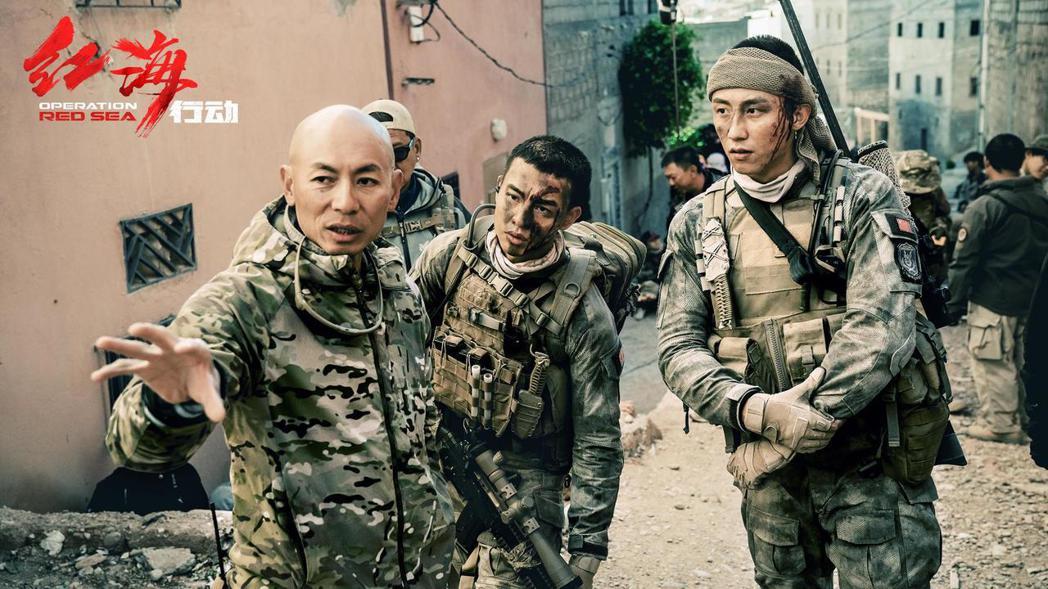 戰爭動作片「紅海行動」將代表香港參加奧斯卡獎最佳外語片。圖/摘自微博