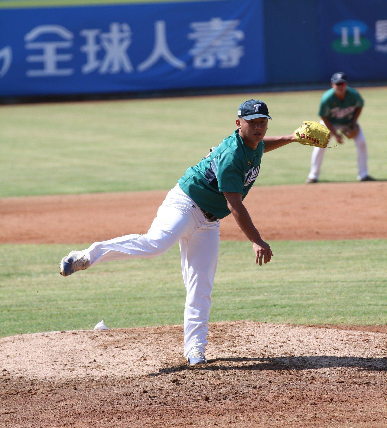 台壽保隊在協會盃初登場就開紅盤。 擷圖自台壽保棒球隊粉絲團
