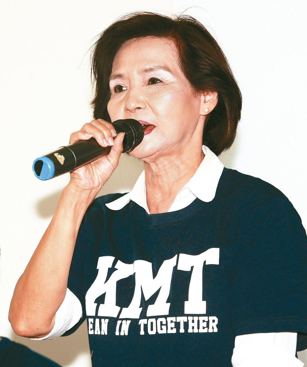 國民黨宜蘭縣長參選人林姿妙。 圖/聯合報系資料照片