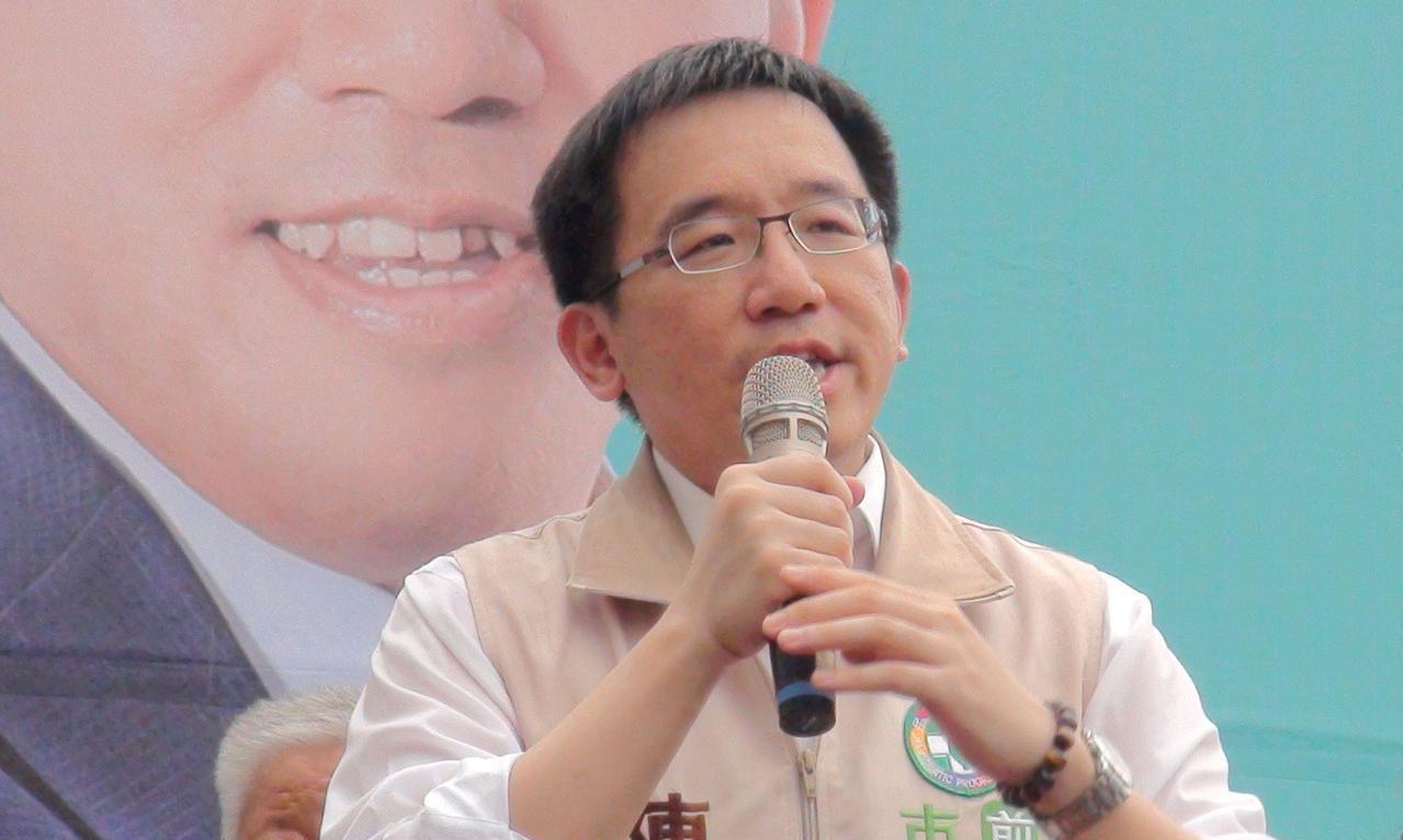 前總統陳水扁之子、高雄市議員參選人陳致中。聯合報系資料照
