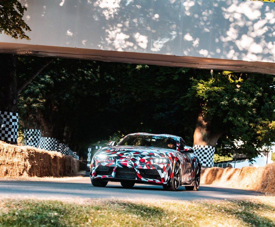Toyota Supra會是集團下半年最受關注的跑車。 摘自Toyota