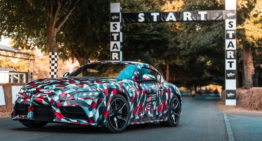 Toyota經典跑車Supra即將於北美車展發表。 摘自Toyota