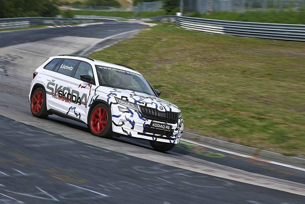 早在今年中Skoda汽車就表示,Kodiaq vRS是目前德國紐柏林北環賽道最快...