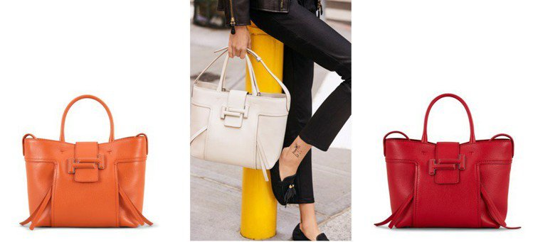 TOD'S全新Double T Shopping Bag手提、肩背兼具,完美融合...