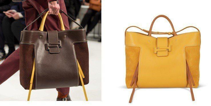 Double T Shopping Bag以異材質拼接與和煦秋色揭開新季潮流亮點...