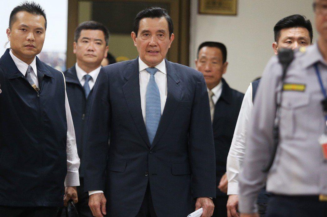 今年3月,台北地檢署起訴前總統馬英九洩密案,台灣高等法院開庭二審。 圖/聯合報系資料照