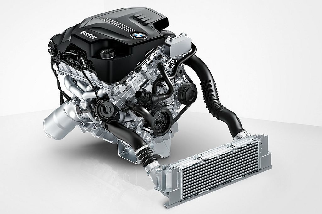 BMW這具1.5L直列三缸渦輪增壓,搭載於318i車型上可提供136hp最大馬力...