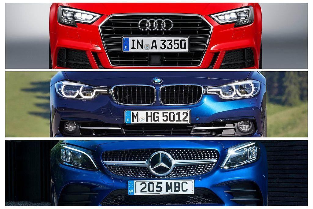 1.5L渦輪增壓引擎已經成為中小型車款的配置主流,德系三大豪華車廠也全都陸續跟進。 圖/各車廠提供