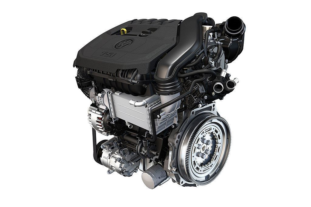 受益福斯集團資源共享,小改款Audi A3車系搭載的這具150hp最大馬力、25.5kgm峰值扭力1.5L渦輪增壓引擎,可跑出16.6km/L平均油耗成績。。 圖/Volkswagen提供