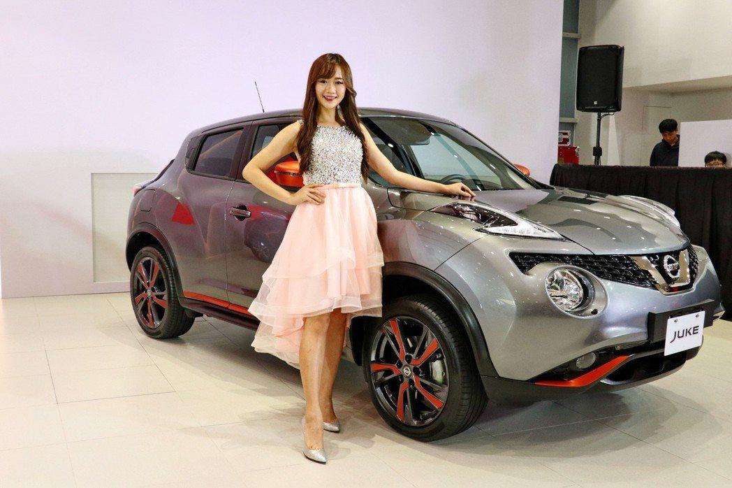 全新JUKE豪華版配備升級再降價推出88.9萬元超值價,魅力豪華版售價90.9萬...