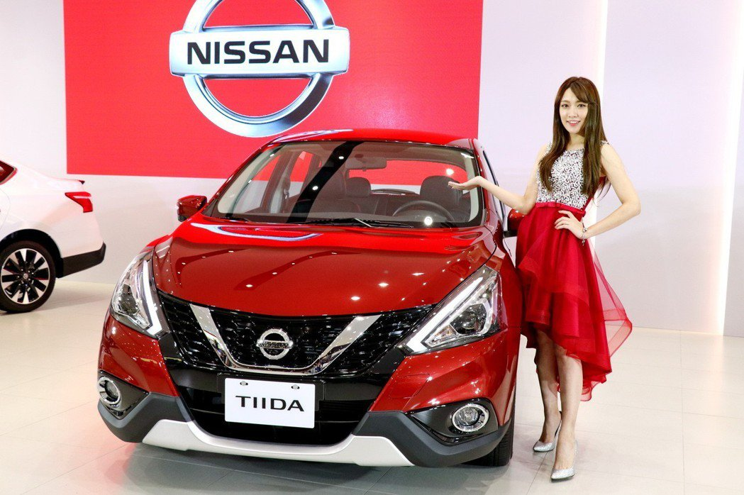 裕隆日產NISSAN針對TIIDA 19年式等三大戰略車款,安全配備與車身外型同步升級。 記者陳威任/攝影