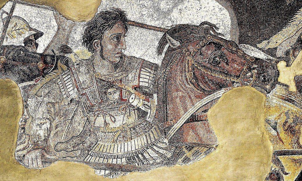 希臘人一直以來自詡為「亞歷山大大帝的子孫」,為偉大馬其頓帝國榮光的繼承者。因此馬...