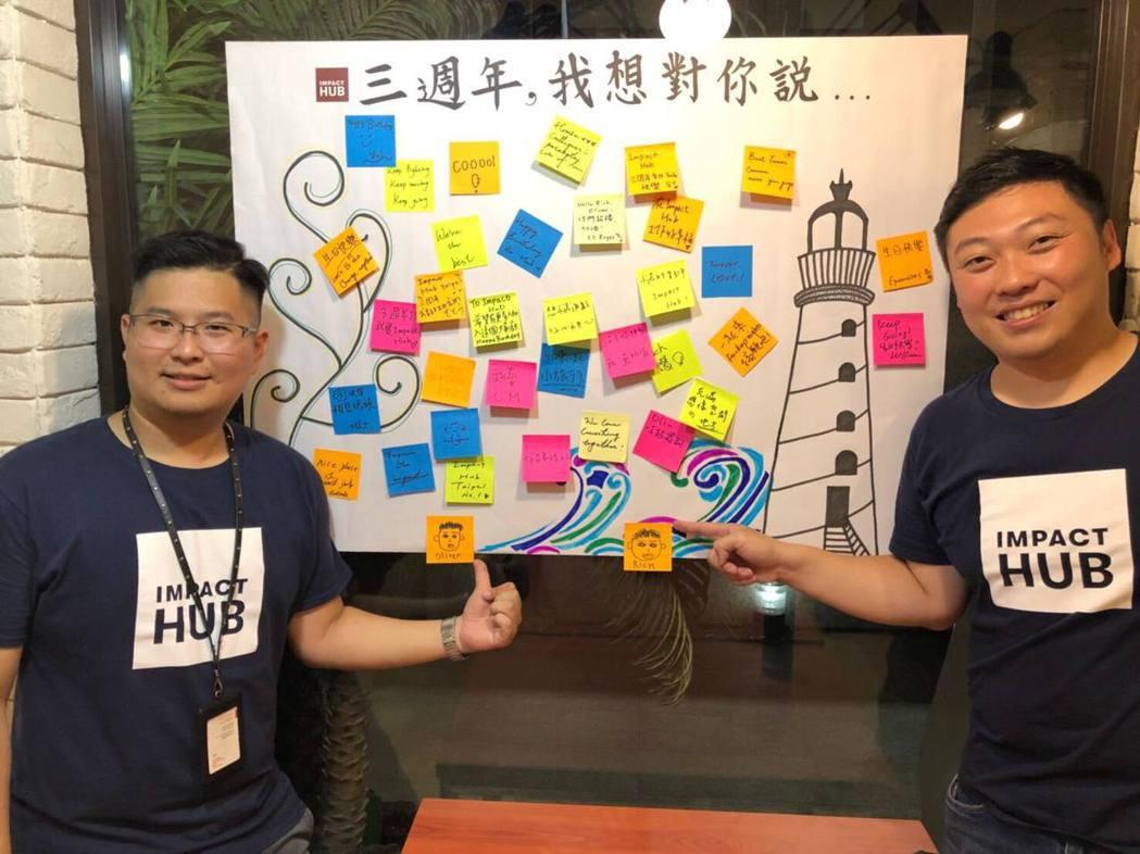 Impact Hub Taipei希望藉Impact Hub帶動聯合國關注的永續...