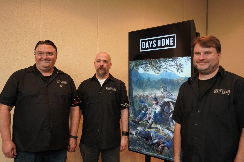 Bend Studio創意總監John Garvin (左)、遊戲總監Jeff ...