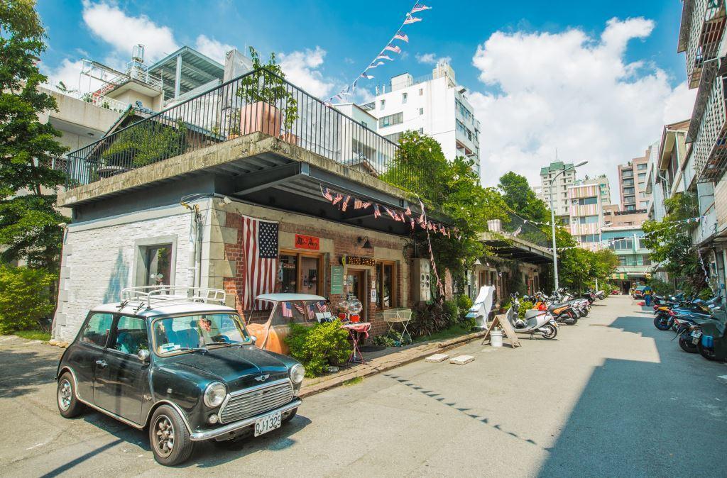 范特喜文創聚落。 圖/travel.taichung.gov.tw