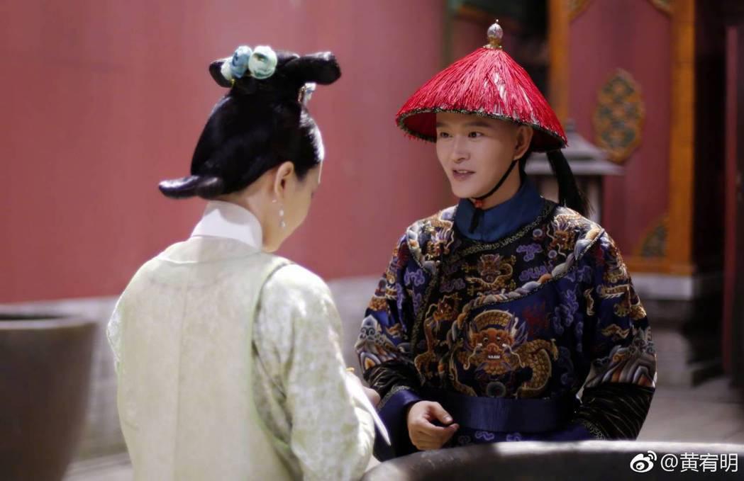 黃宥明詮釋的「李玉」在「如懿傳」中有很真摯的感情線。圖/摘自微博