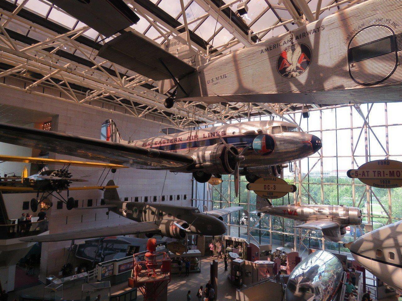 美國華府航太博物館。華盛頓記者張加/攝影