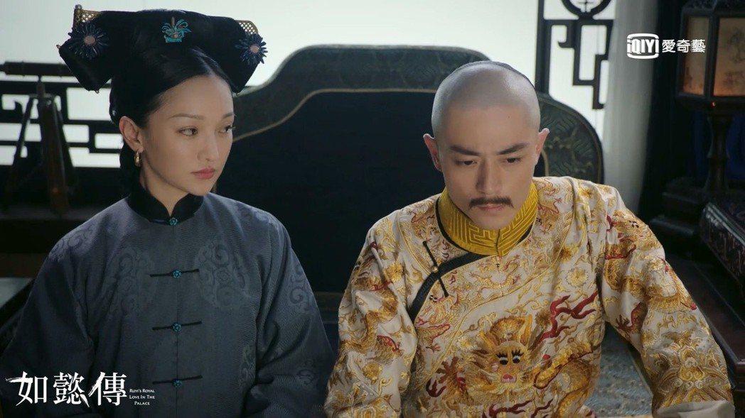 「如懿傳」在周迅(左)、霍建華主演之下,原本就關注度高。圖/愛奇藝台灣站提供