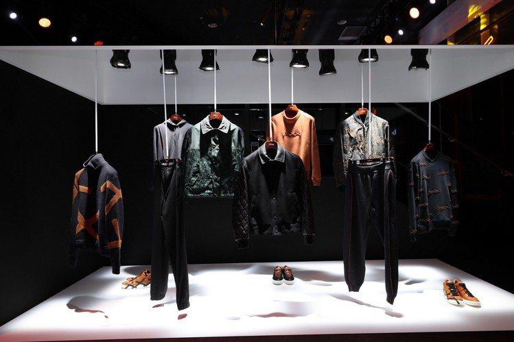Ermenegildo Zegna推出全新的XXX系列服飾,日前在上海當代藝術博...